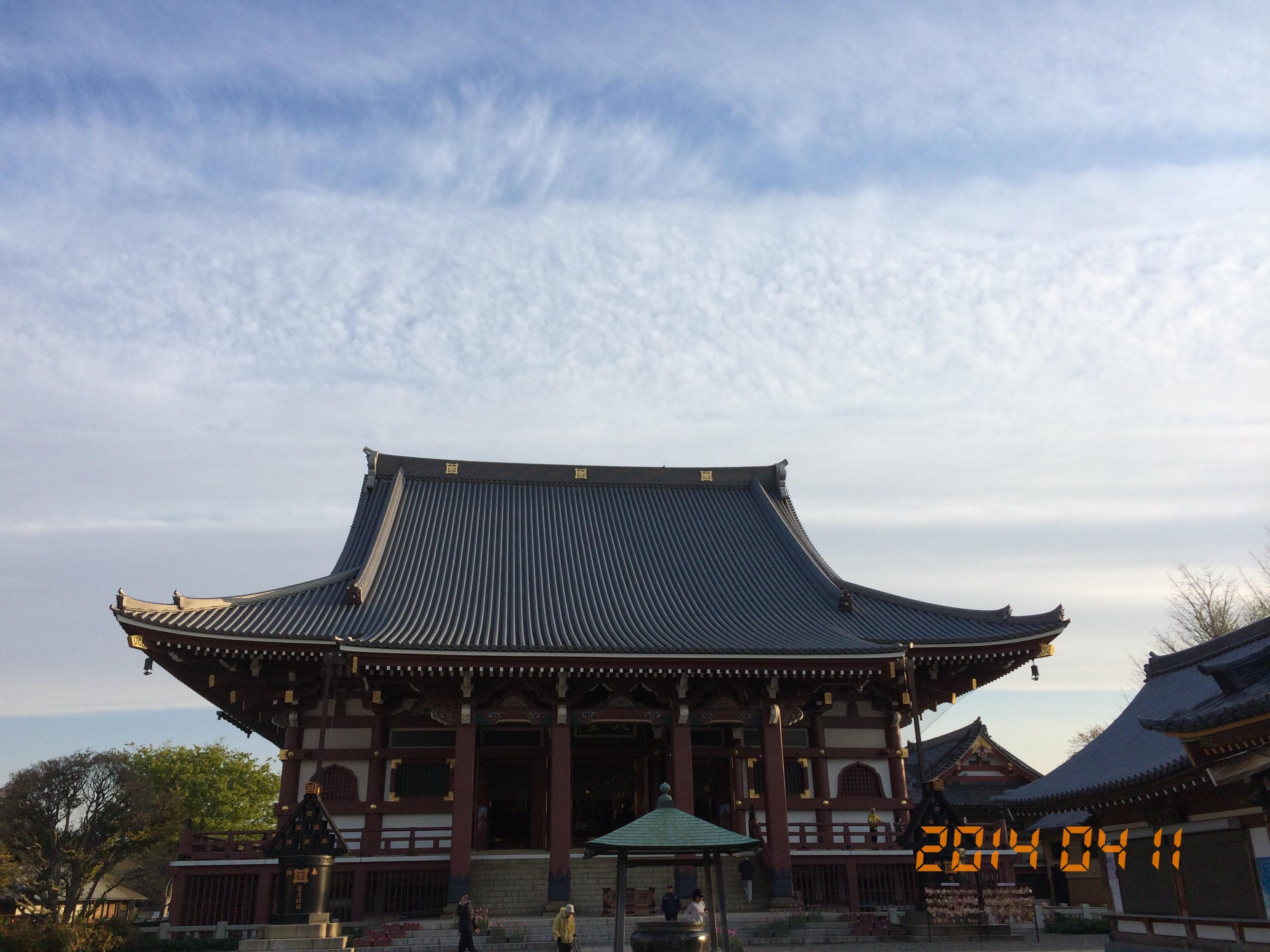 2014年4月11日池上本門寺