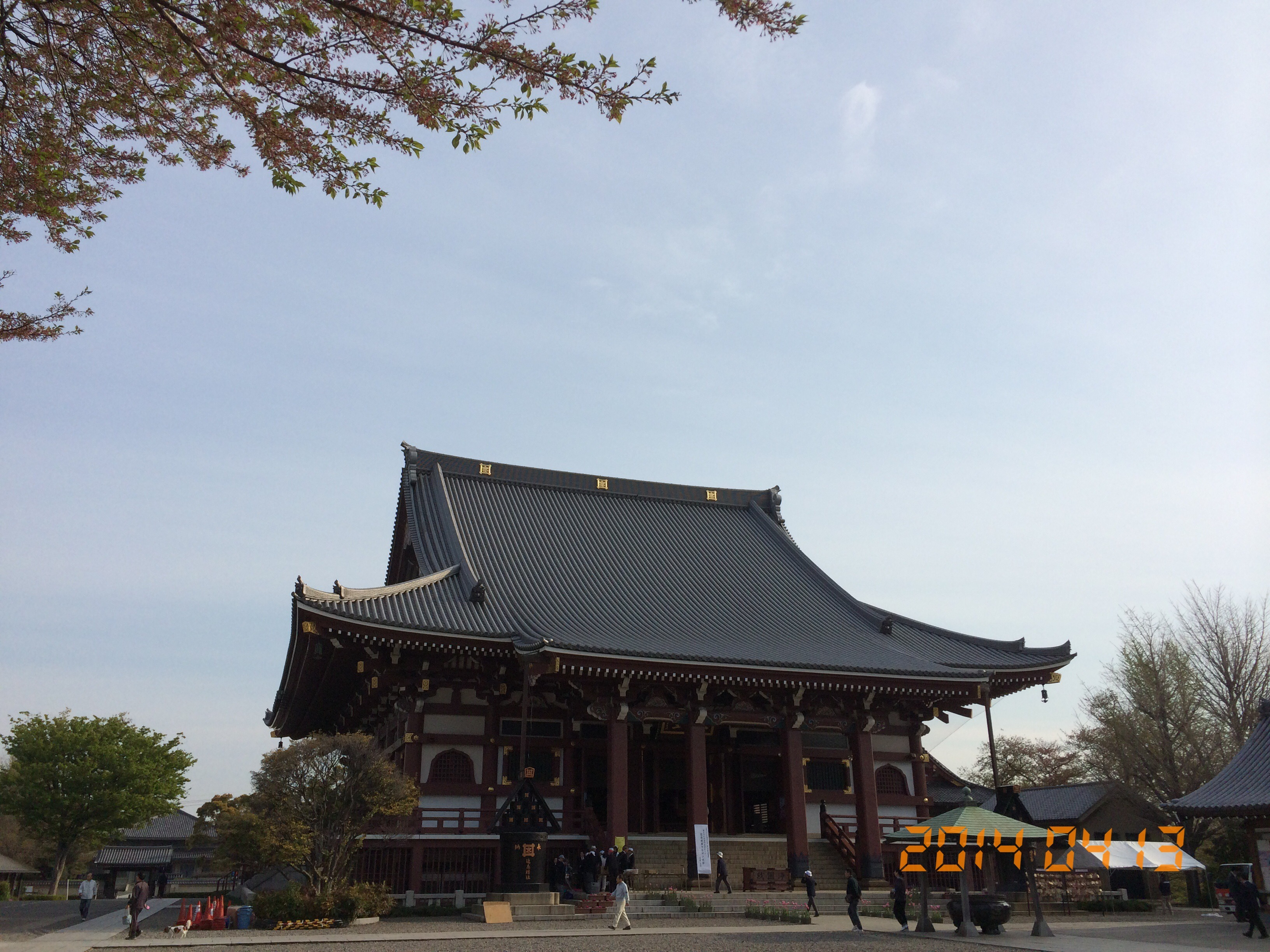 2014年4月13日池上本門寺