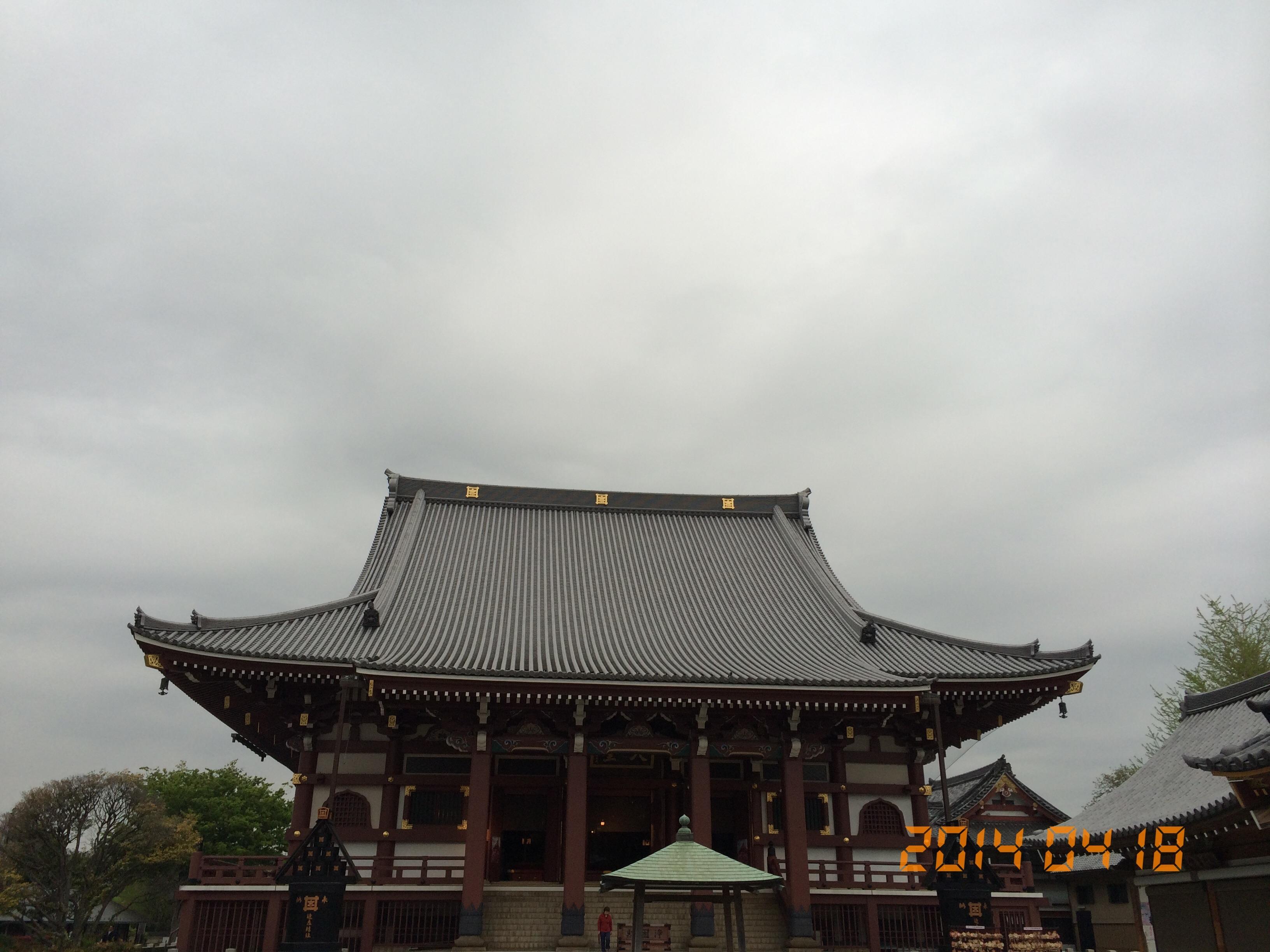 2014年4月18日池上本門寺