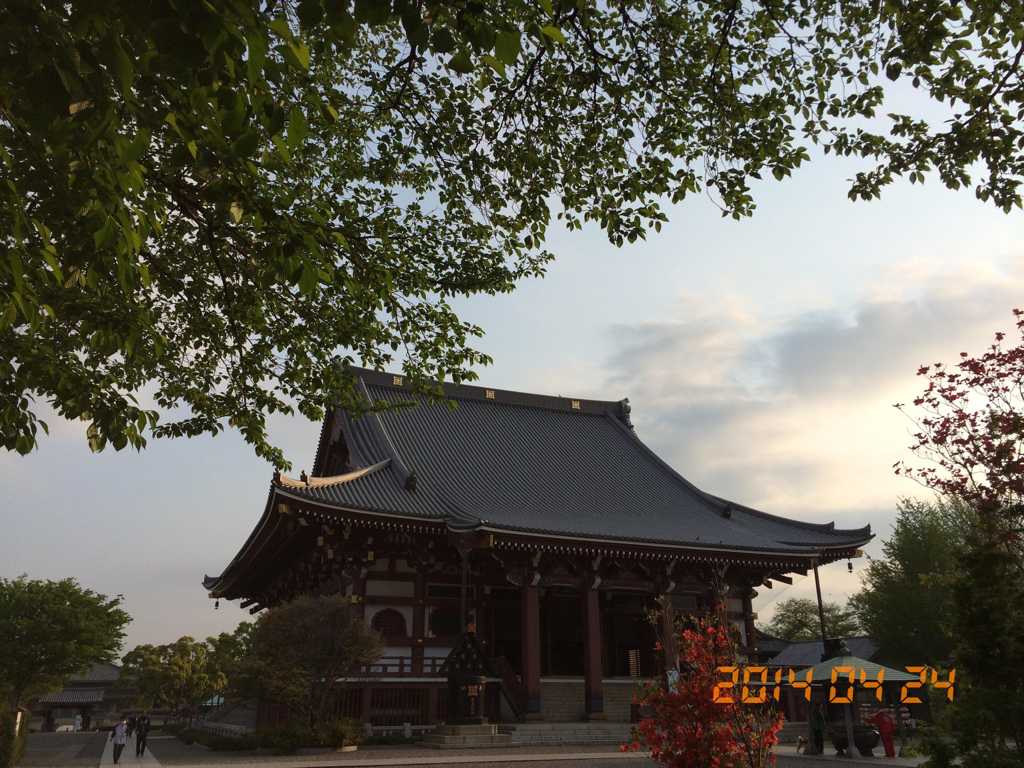 2014年4月24日池上本門寺