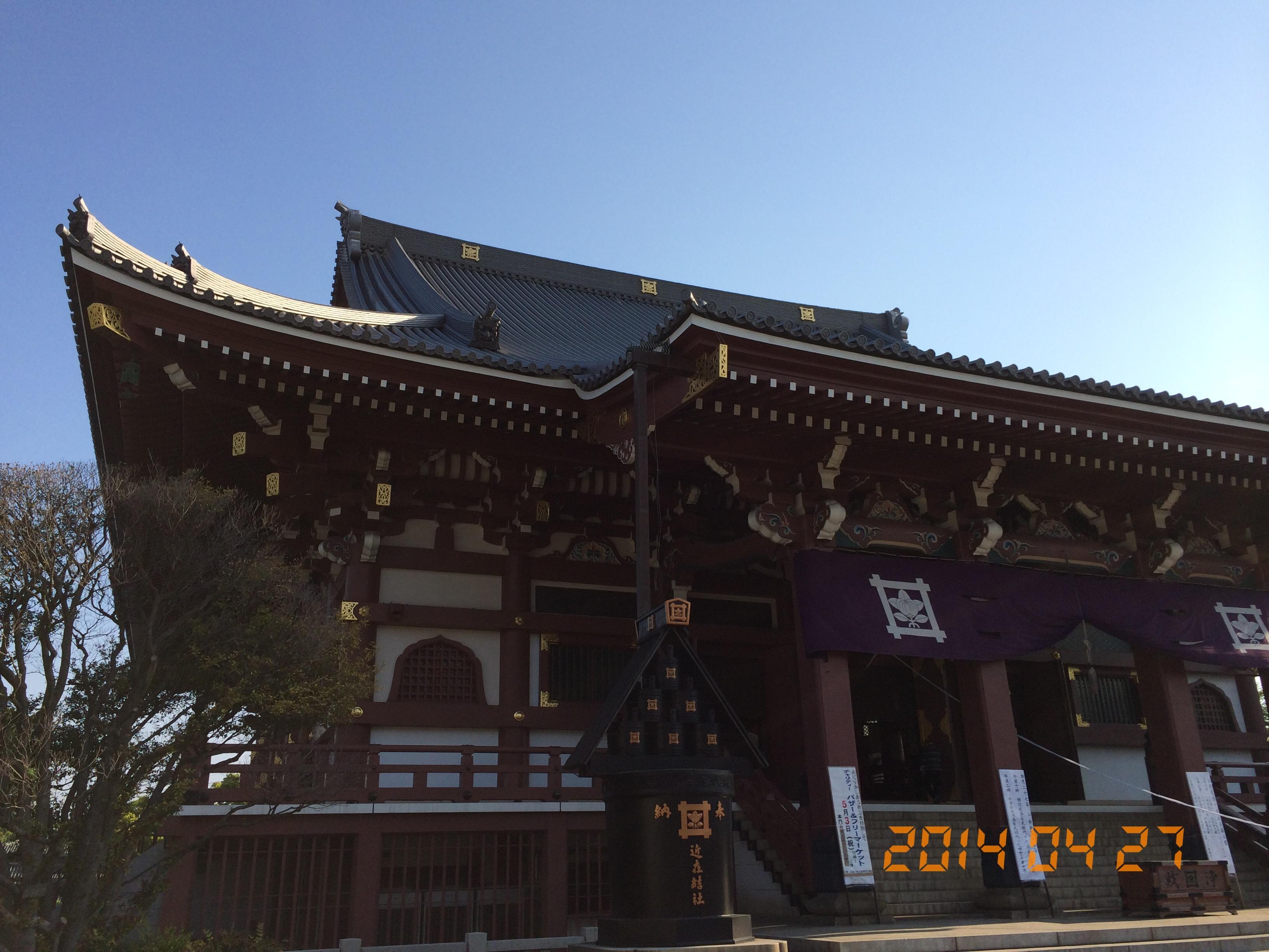 2014年4月27日池上本門寺