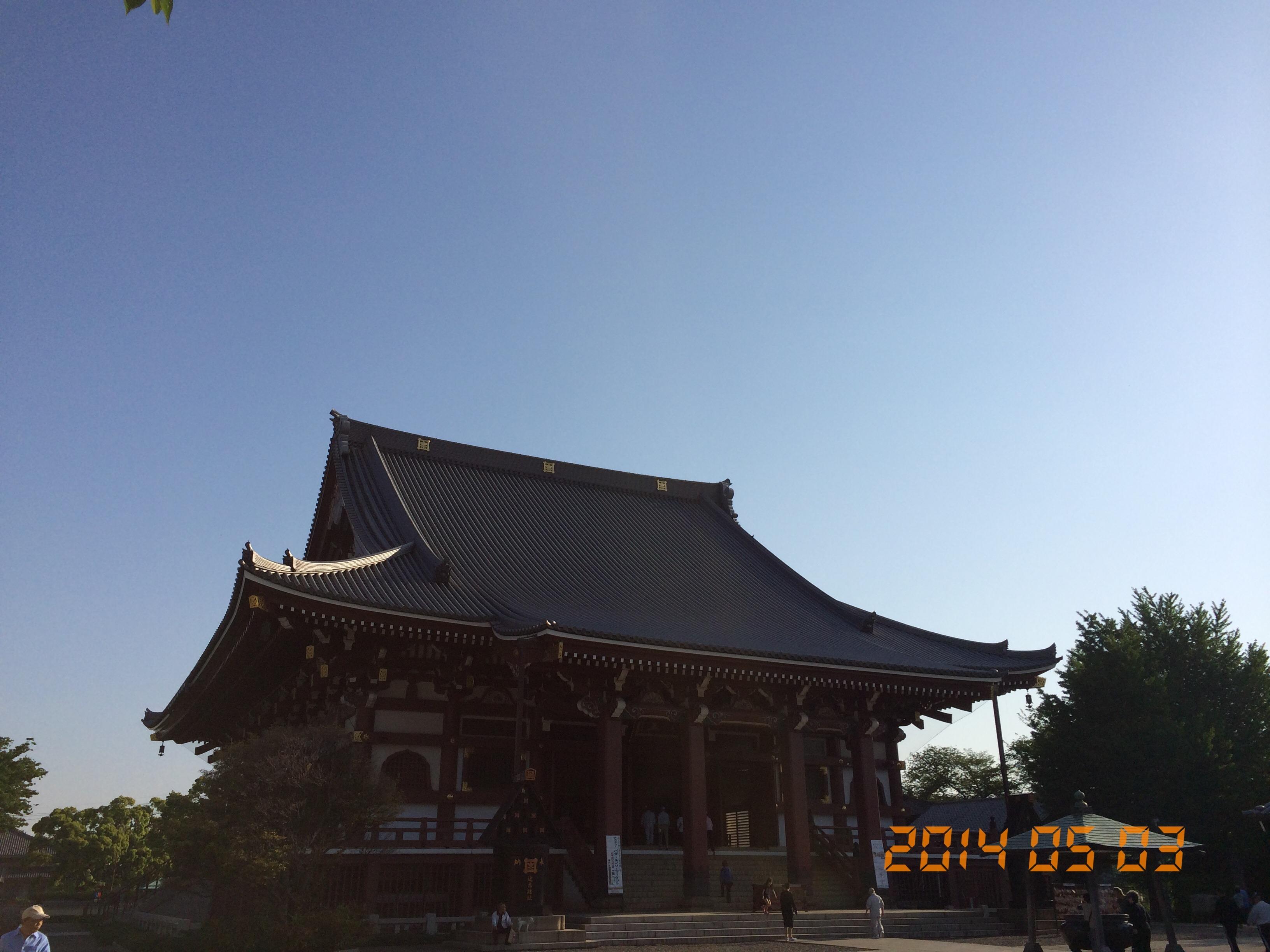 2014年5月3日池上本門寺
