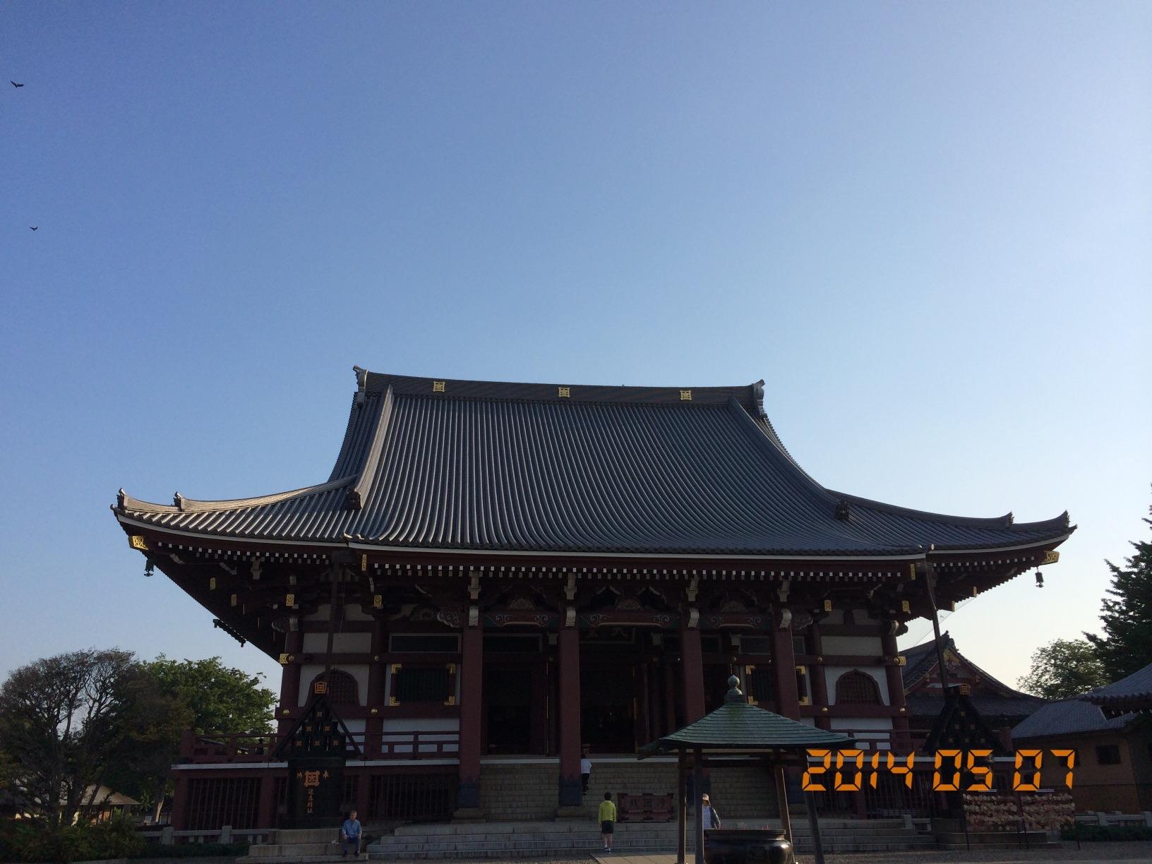 2014年5月7日池上本門寺
