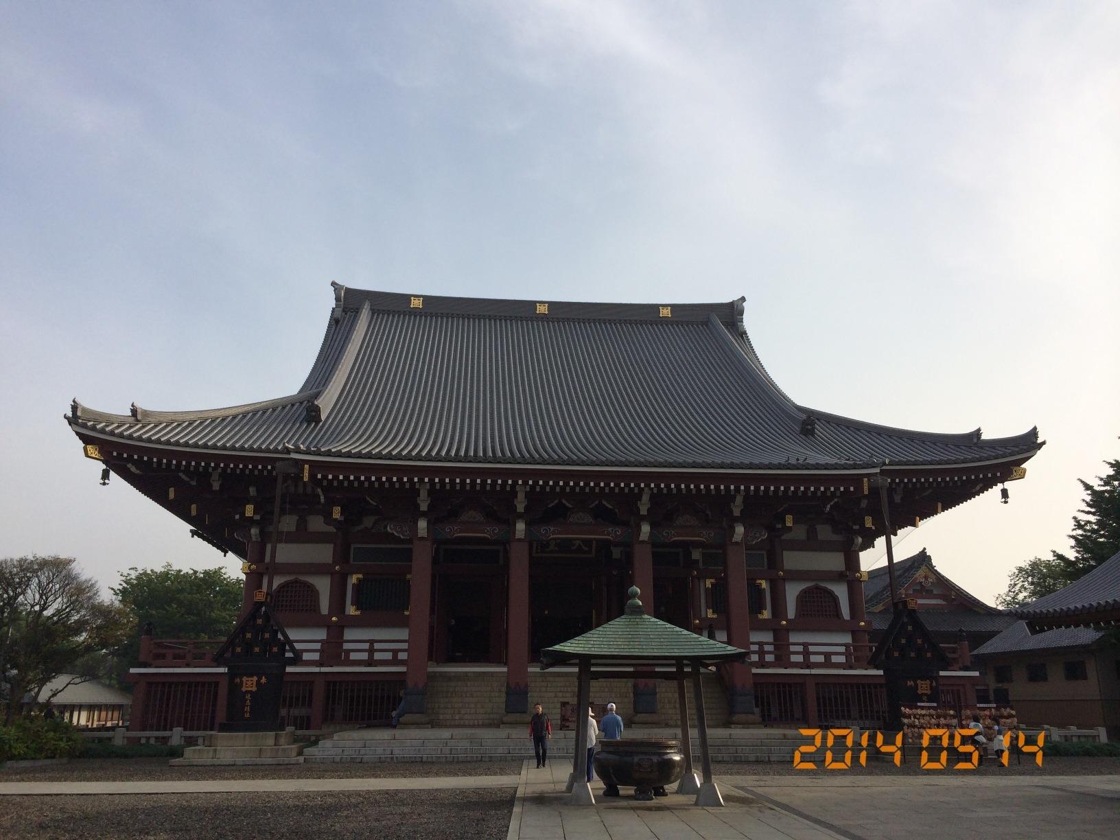 2014年5月14日池上本門寺