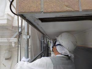 軒天井を塗装