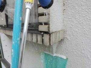 雨漏り散水調査